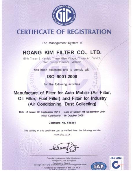 TCVN ISO 9001:2008