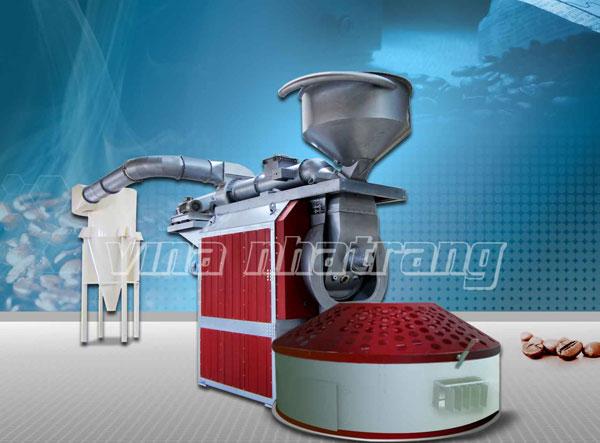 Máy rang cà phê 250kg