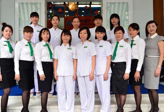 Đội ngũ nhân viên lành nghề