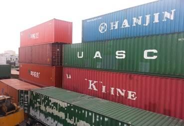 Container khô làm kho chứa hàng