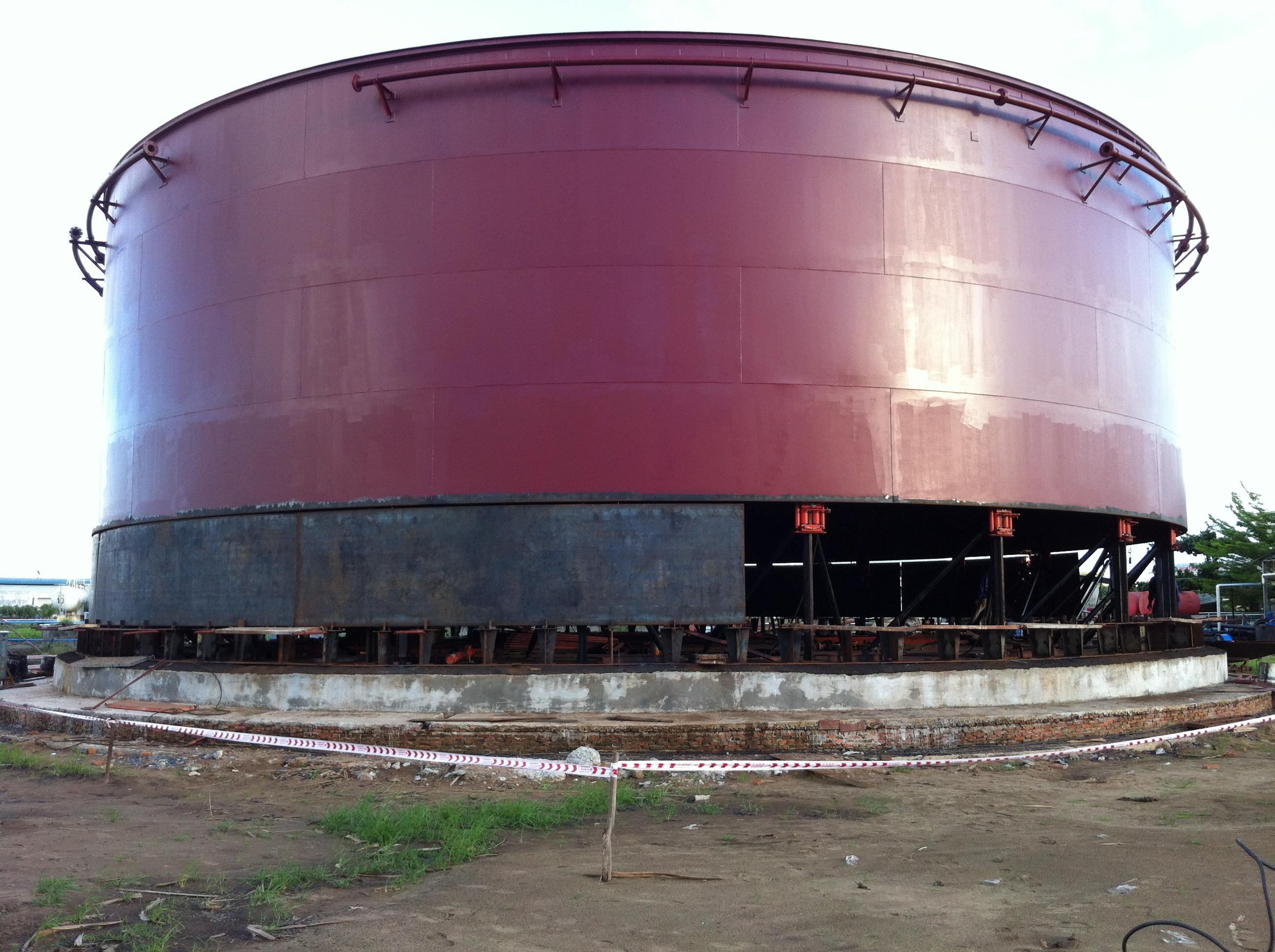 Kết quả hình ảnh cho THI CÔNG bồn chứa xăng dầu hóa chất cứu hỏa