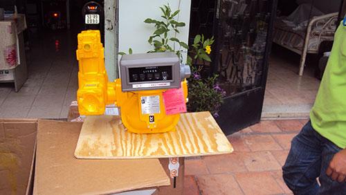Lưu lượng kế xăng dầu gas LC - USA
