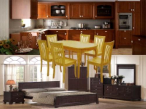 Tủ, bàn ghế gỗ