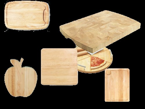 Thớt gỗ cao su