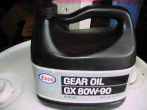 Esso Gear Oil GX 80W90