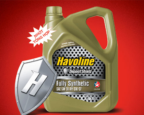 Havoline Fully Synthetic 5W 30