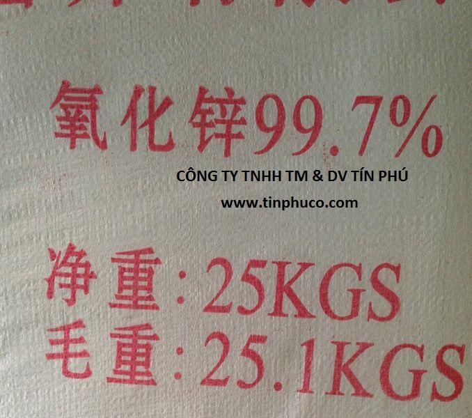 Oxit kẽm (ZnO) 99.7%
