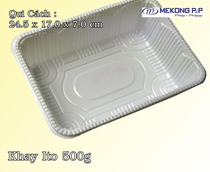 Khay nhựa Hips ITO 500g
