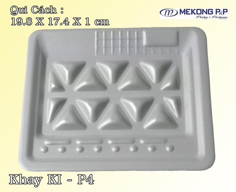 Khay nhựa xốp KLP4