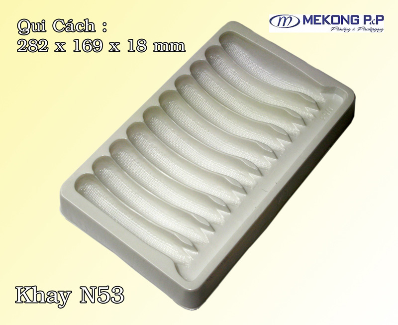 Khay nhựa Hips N53
