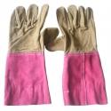 Găng tay da dài