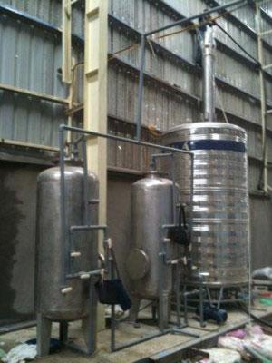 Hệ thống xử lý nước sinh hoạt KCN Hanaka - Bắc Ninh