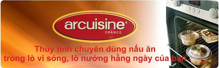ARCUISINE - Thuỷ tinh vi sóng