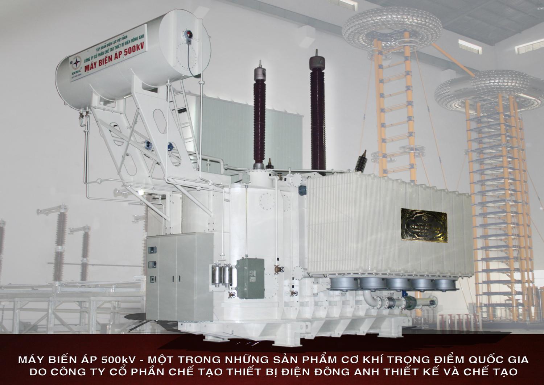 Máy biến áp truyền tải 500KV