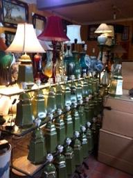 Đèn bàn, đầu giường gốm sứ