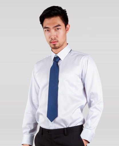 áo sơ mi nam classic dài tay sọc xanh