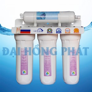 Máy lọc nước NANO GEYSER 4 Cấp TK4 + Tủ INOX