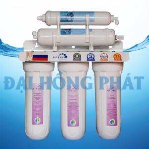 Máy lọc nước NANO GEYSER 5 Cấp TK5 + Tủ INOX