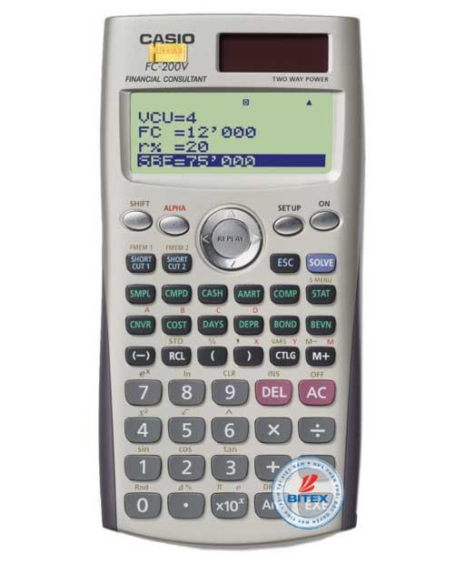 CASIO-FC-200V
