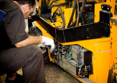 Sửa chữa Main xe nâng điện