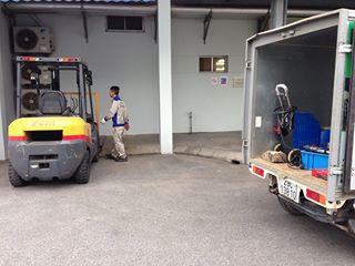 Dịch vụ bảo dưỡng xe nâng động cơ diesel