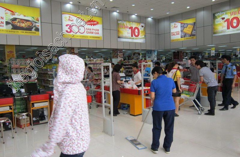 Vệ sinh siêu thị
