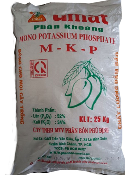 Phân bón MKP (KH2PO4)