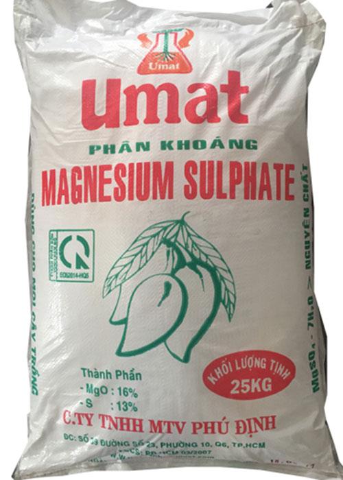Phân bón Sulphat Magnesium