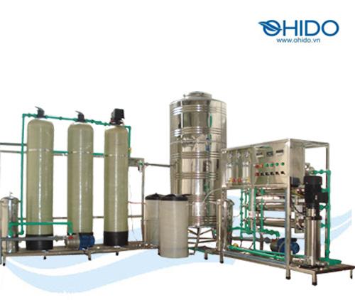 Hệ thống lọc nước tinh khiết RO Ohido 1000 lh
