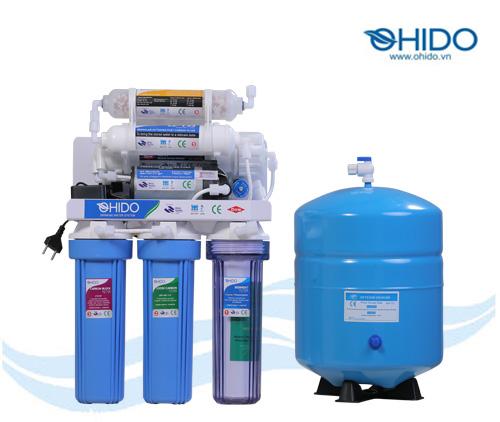 Máy lọc nước RO Ohido 6 cấp lọc