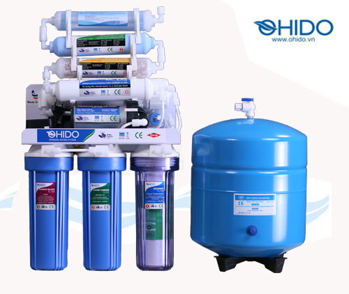 Máy lọc nước RO Ohido 8 cấp lọc