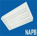 Máng đèn lắp âm trần NAPB