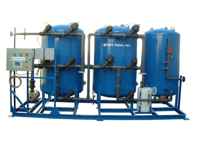 Pure aqua water treatment systems