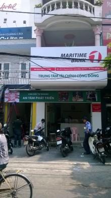 Thi công PGD Martime Bank Ông ích Khiêm Đà Nẵng