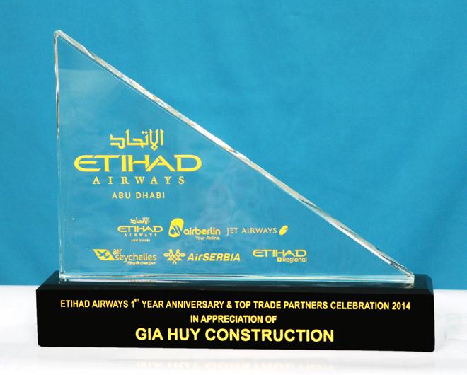 Giải thưởng ETIHAD - 2014