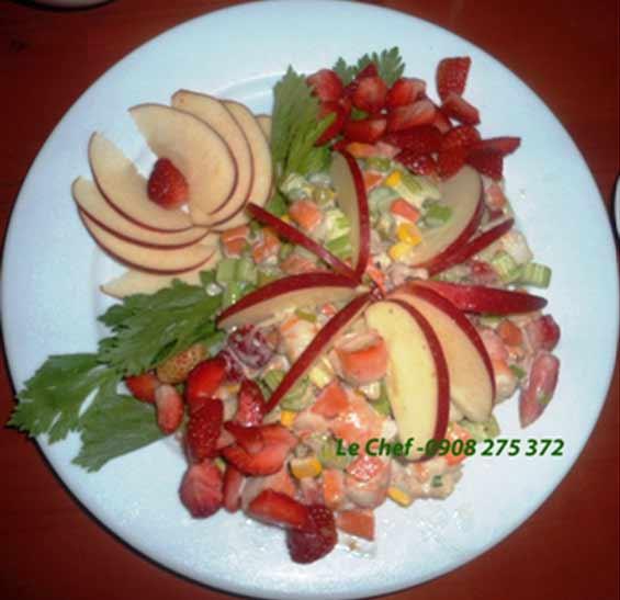 Salad Nga - Tôm
