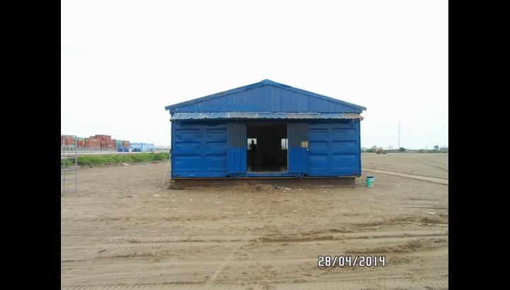 Nhà container lắp ghép