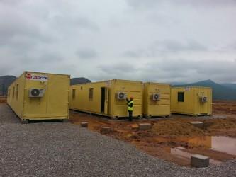 Công trình container lắp ghép nhà máy lọc dầu Nghi Sơn