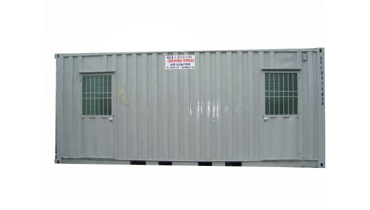 Container vệ sinh 20 feet