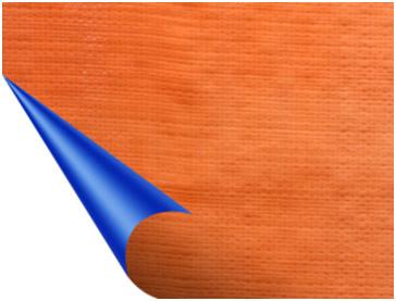 Bạt Tarpaulin xanh cam