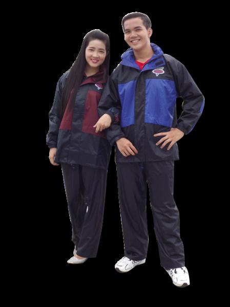 Bộ áo mưa hai lớp
