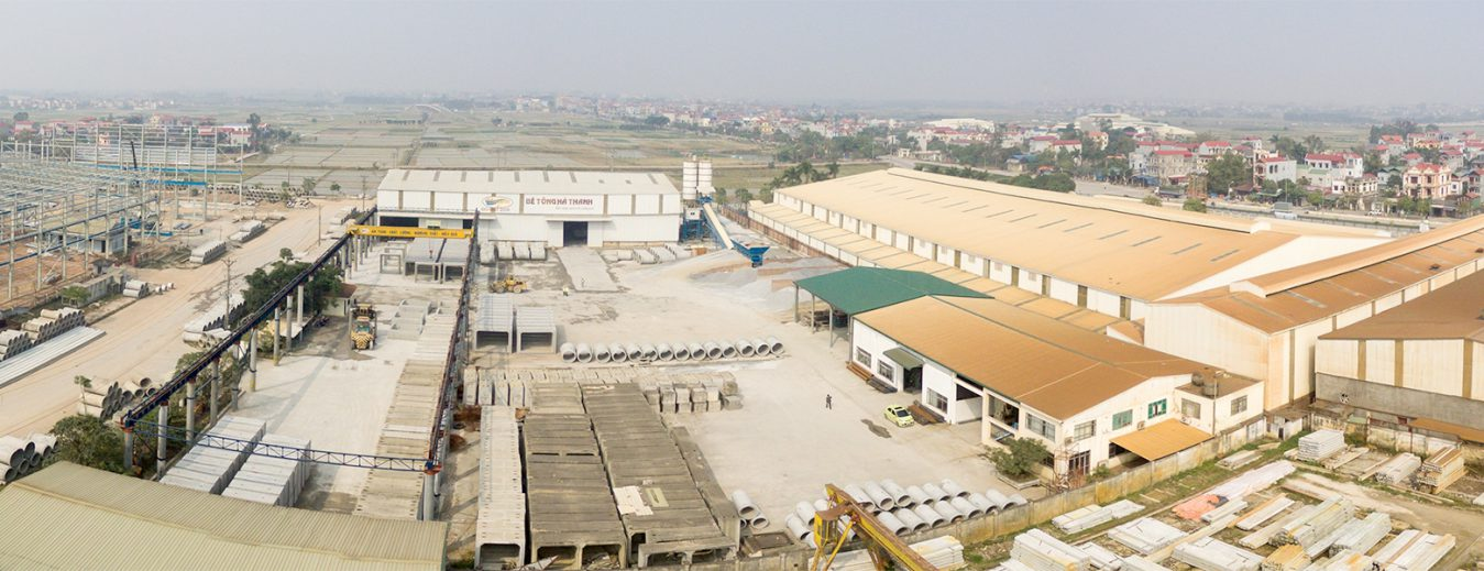 Nhà máy bê tông Hà Thanh - Đông Anh