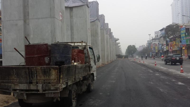 Nhà gas vành đai 3 - Dự án đường sắt trên cao tuyến Cát Linh - Hà Đông
