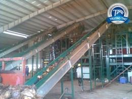 Băng tải cấp liệu tải dừa