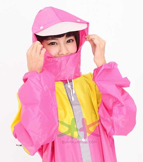 áo mưa cổ rùa