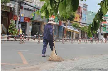 Dịch vụ quét đường