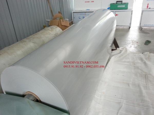 Băng tải PVC ghi sáng
