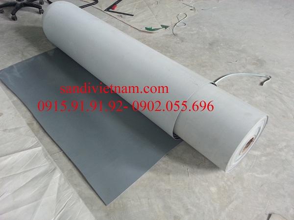 Băng tải PVC ghi xám