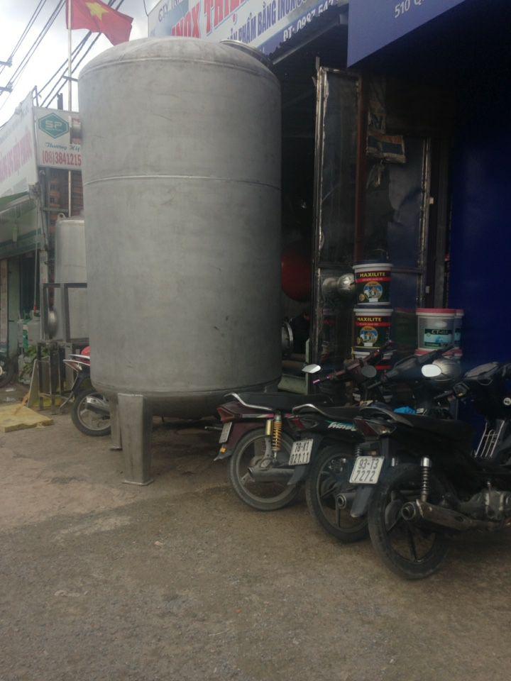 Gia công bồn inox Hà Khánh