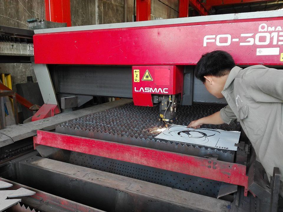 Máy laser inox Hà Khánh